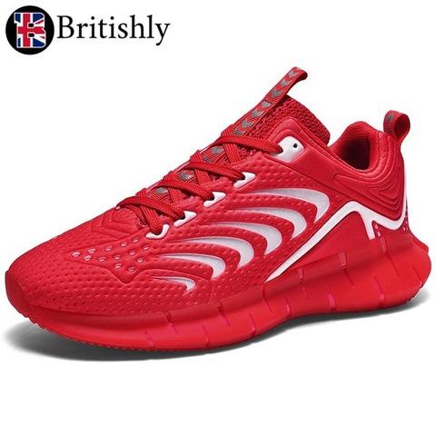 Kuggar Red Luminous Low-cut Shoes 6cmアップ