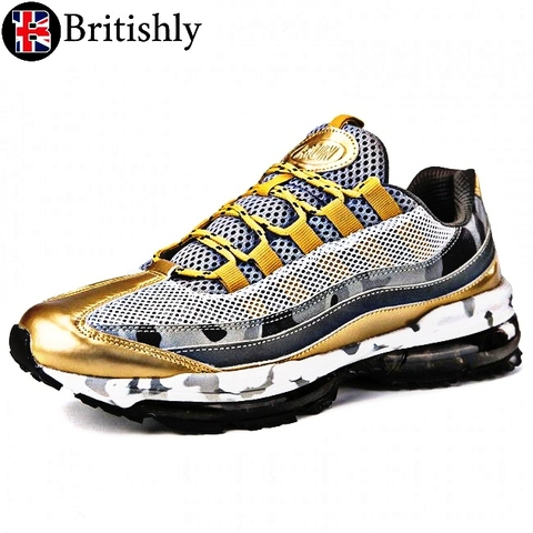 Merseyside Air RUN Gold 6cmアップ