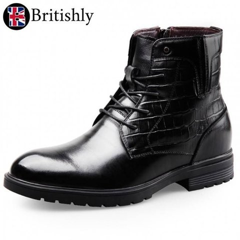 Monmouthshire Motorcycle Street Boot 6.5cmアップ