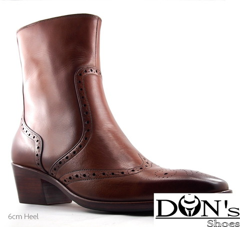 McFaden Cuban Heels Boot