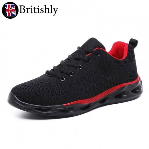 Cornwal Lightweight Black-Red 5cmアップ