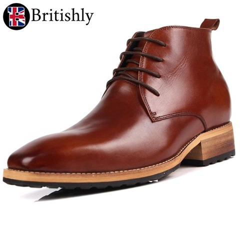 Cusbay British boots 7cmアップ