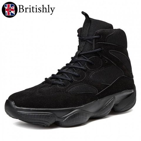 North Wembley High Top Warlking Black 8cmアップ