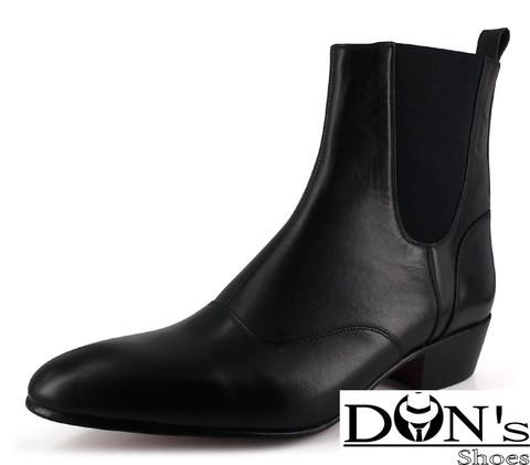 WinklePicker | Elegant 1 Cuban Heels Boot