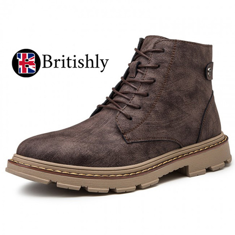 London Boots British Trendy mkⅡ 8.5cmアップ