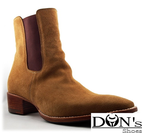 Despenas Cuban Heels Boot