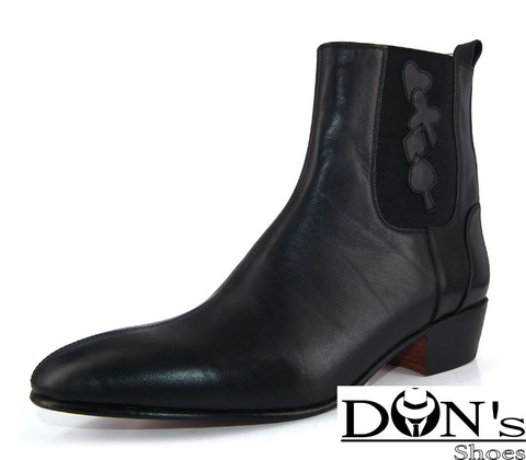 WinklePicker | The Dealer Cuban Heels Boot
