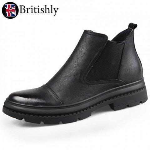 Rhondda Cynon Taf Chelsea Boots 7cmアップ