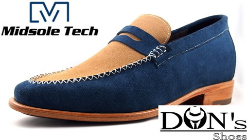 Mixed Loafer Midsole Tech.