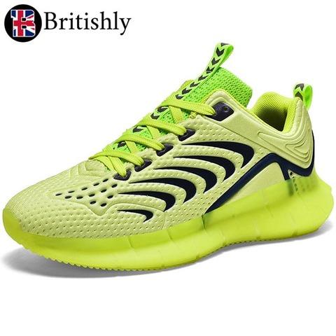 Kuggar Green Luminous Low-cut Shoes 6cmアップ