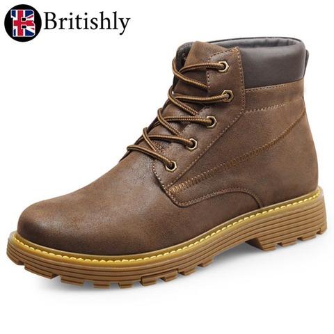 Aldgate Chukka Boots Brown 6cmアップ