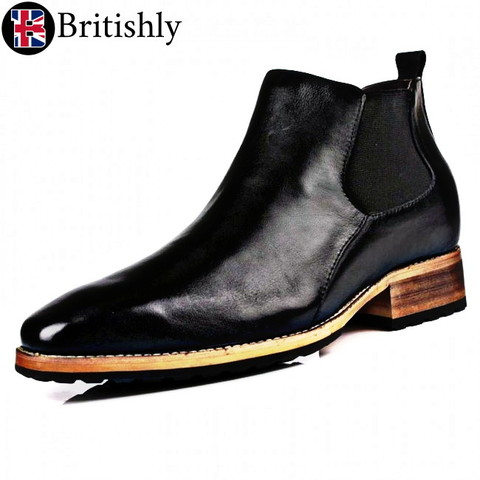 Naast mkⅣ chelsea boots 7cmアップ
