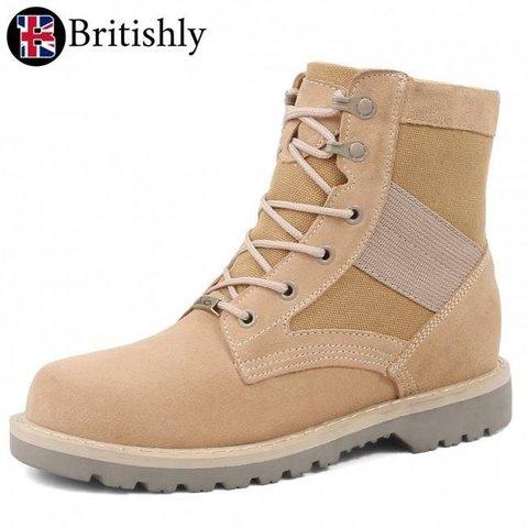 Cumberland Casual Boots Browm 8cmアップ