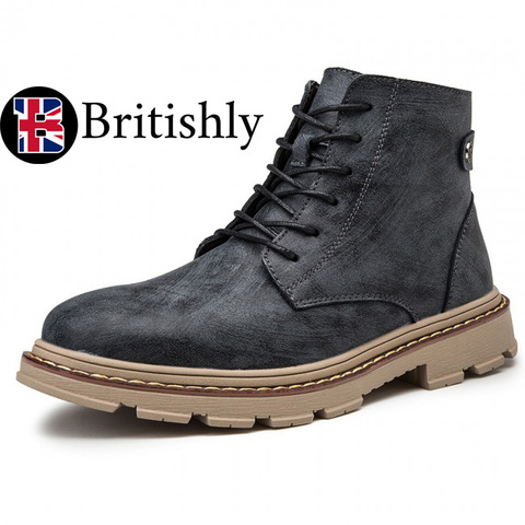 London Boots British Trendy mkⅠ 8.5cmアップ