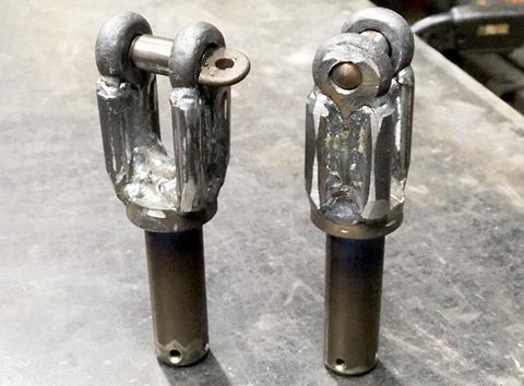 レッカー用 シャックルピン シャフト径26mm 2ヶセット