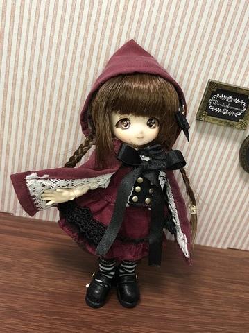 【コラボ】赤ずきんちゃんダークネスセット(赤)