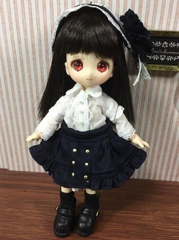ロリータスカートセット(濃紺)