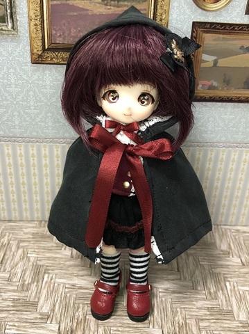 【コラボ】赤ずきんちゃんダークネスセット(黒)