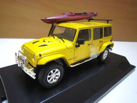 2014 Jeep Wrangler メタリックイエロー  1/43 グリーンライト 新品