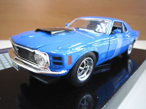 Ford Mustang Boss429 1970 ブルー 1/24 新品