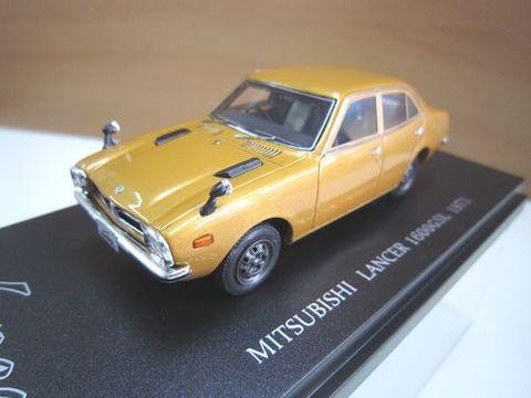 CAM 三菱ランサー 1600GSL ブラウンメタリック 1/43 新品