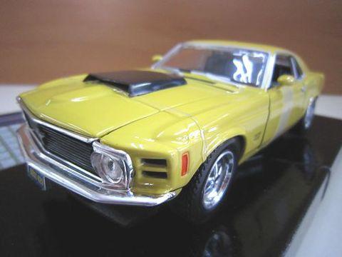 Ford Mustang Boss429 1970 イエロー 1/24 新品