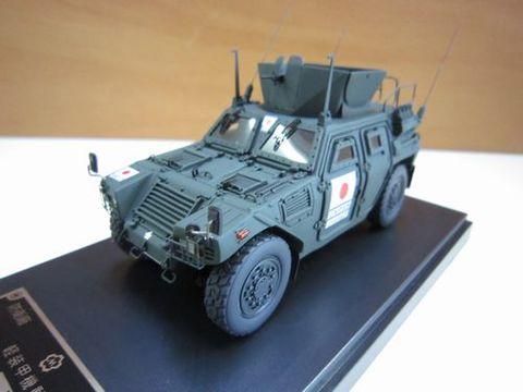 自衛隊 イラク復興業務支援隊 サマーワ 軽装甲機動車 1/43 新品