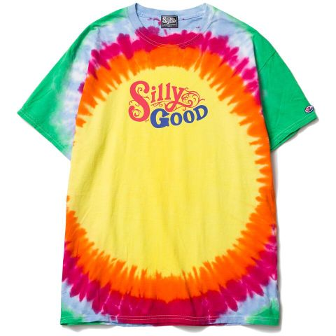 SILLY GOOD / SUN BURST TIEDIE TEE