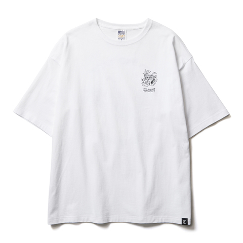 CLUCT クラクト BRAIN FREEZE S/S TEE W Tシャツ