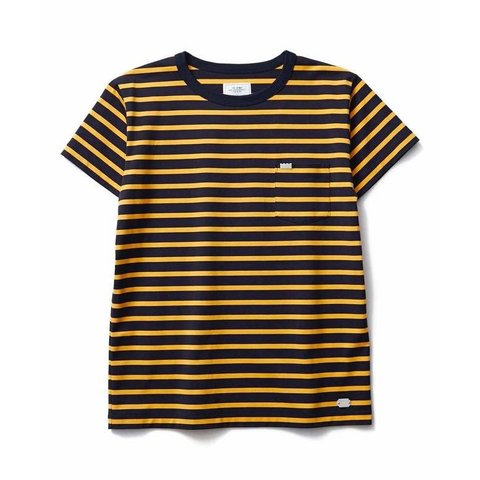 CRIMIE BORDER POCKET T-SHIRT クライミー ボーダーTシャツ