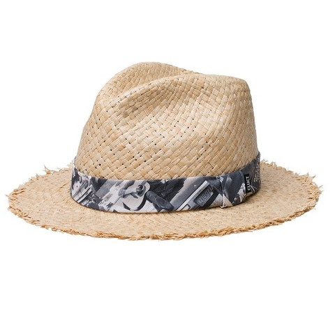 CLUCT ROUGH EDGE STRAW HAT