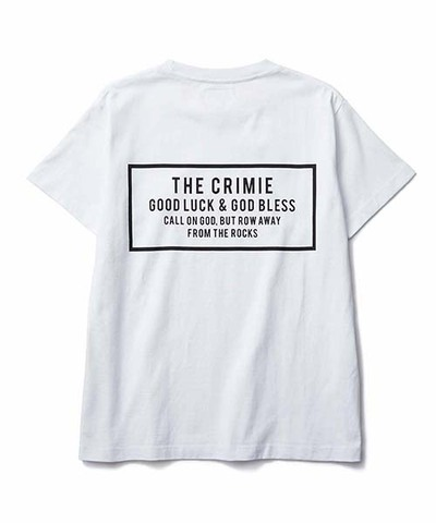 CRIMIE クライミー CR BOX LOGO POCKET T-SHIRT