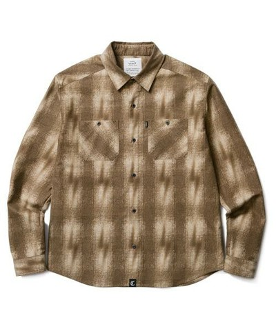 CLUCT,LIGHTNING SHADOW PLAID SHIRT
