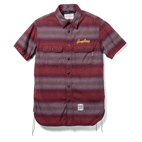 GRAVYSOURCE S/S BORDER SHIRTS