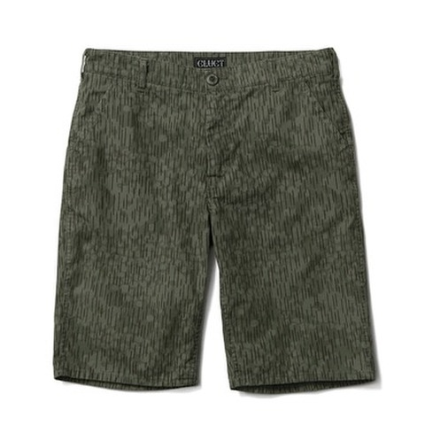 "【CLUCT (クラクト)】 SHORT (ショートパンツ) ""WASHED RAIN DROP CAMO SHORT"