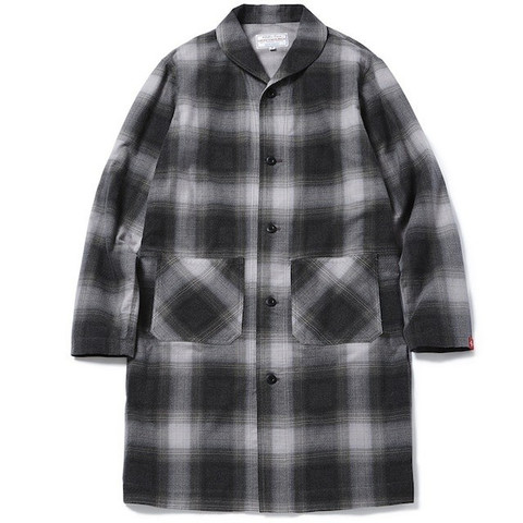 GRAVYSOURCE LONG CHECK SHIRTS