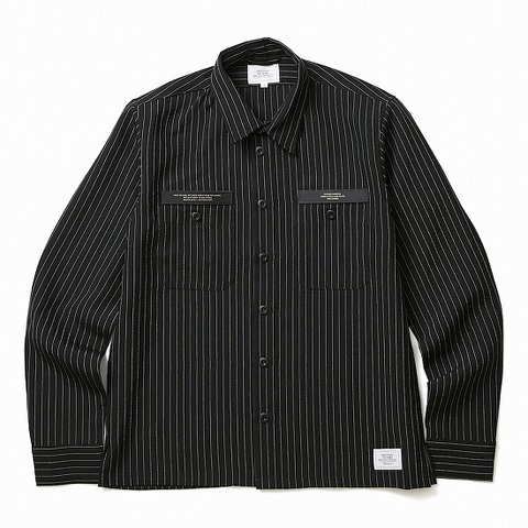 CRIMIE(クライミー) STRIPE WORK SHIRT