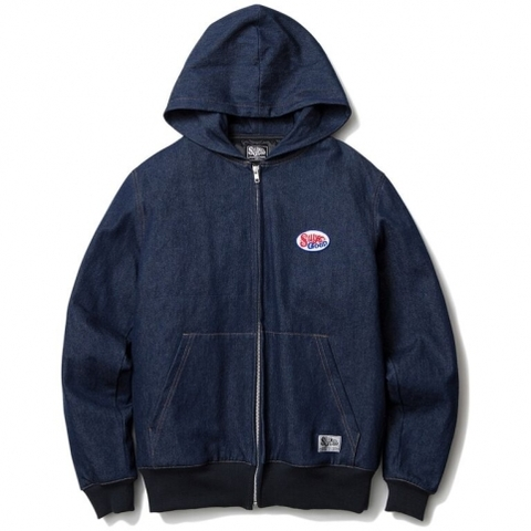 SILLY GOOD / DENIM HOOD JACKET