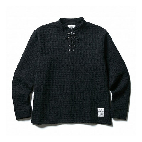 CLUCT(クラクト) ニットソーLACE UP WOOL PULLOVER