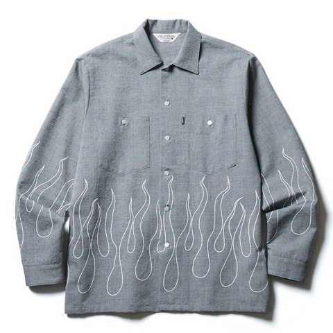 CLUCT FIRE FLAME SHIRT