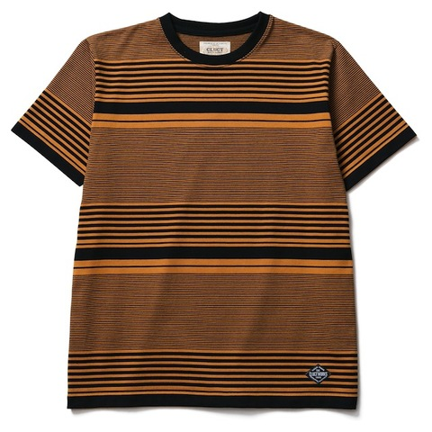 CLUCT ORIGINAL STRIPE POCKET S/S CREW