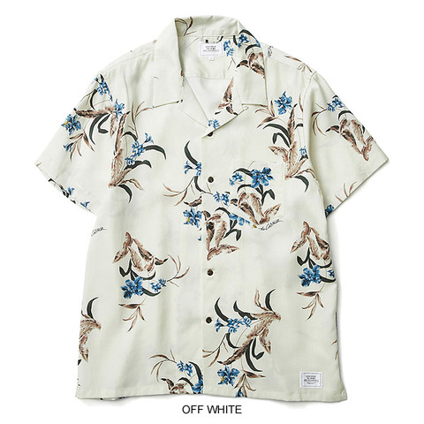 CRIMIE クライミー BOTANICAL and BEE ALOHA SHIRT