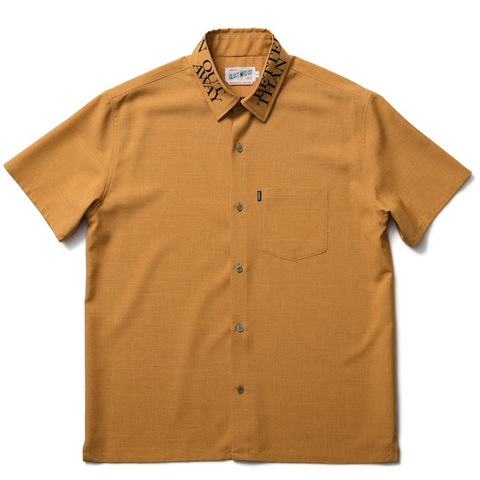 CLUCT PRINTED COLLAR S/S SHIRT