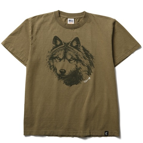 CLUCT VINTAGE WOLF TEE