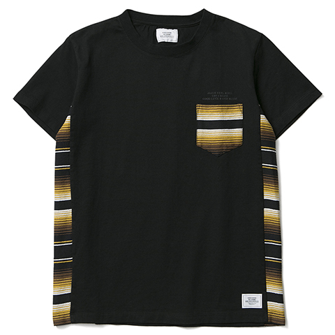 CRIMIE / ORIGINAL MEXICAN TEXTILE POCKET T-SHIRTS