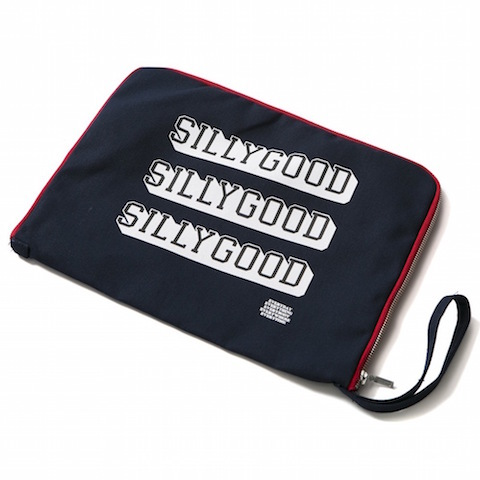 SILLY GOOD / WALL ART CLUTCH BAG
