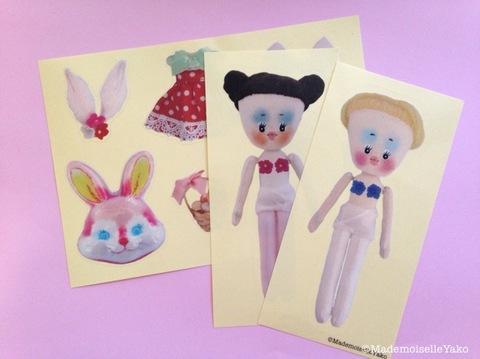 petit doll & ドレスセットシール 3枚セット