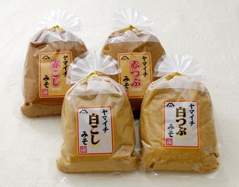 ヤマイチ【白つぶ】みそ 1kg
