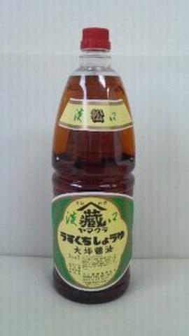 郡上仕込み うすくち醤油 松印 1.8L手付きペットボトル