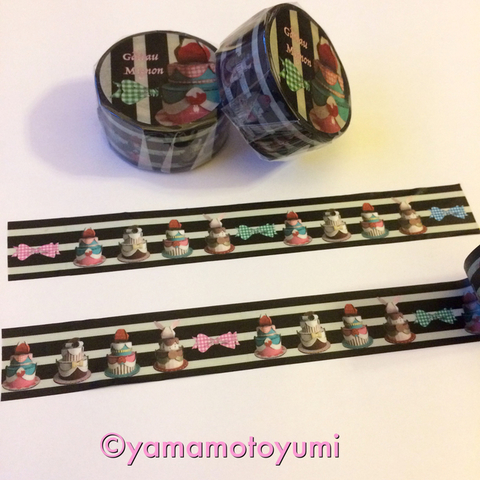 yamamotoyumi マスキングテープ・Gatou mignon